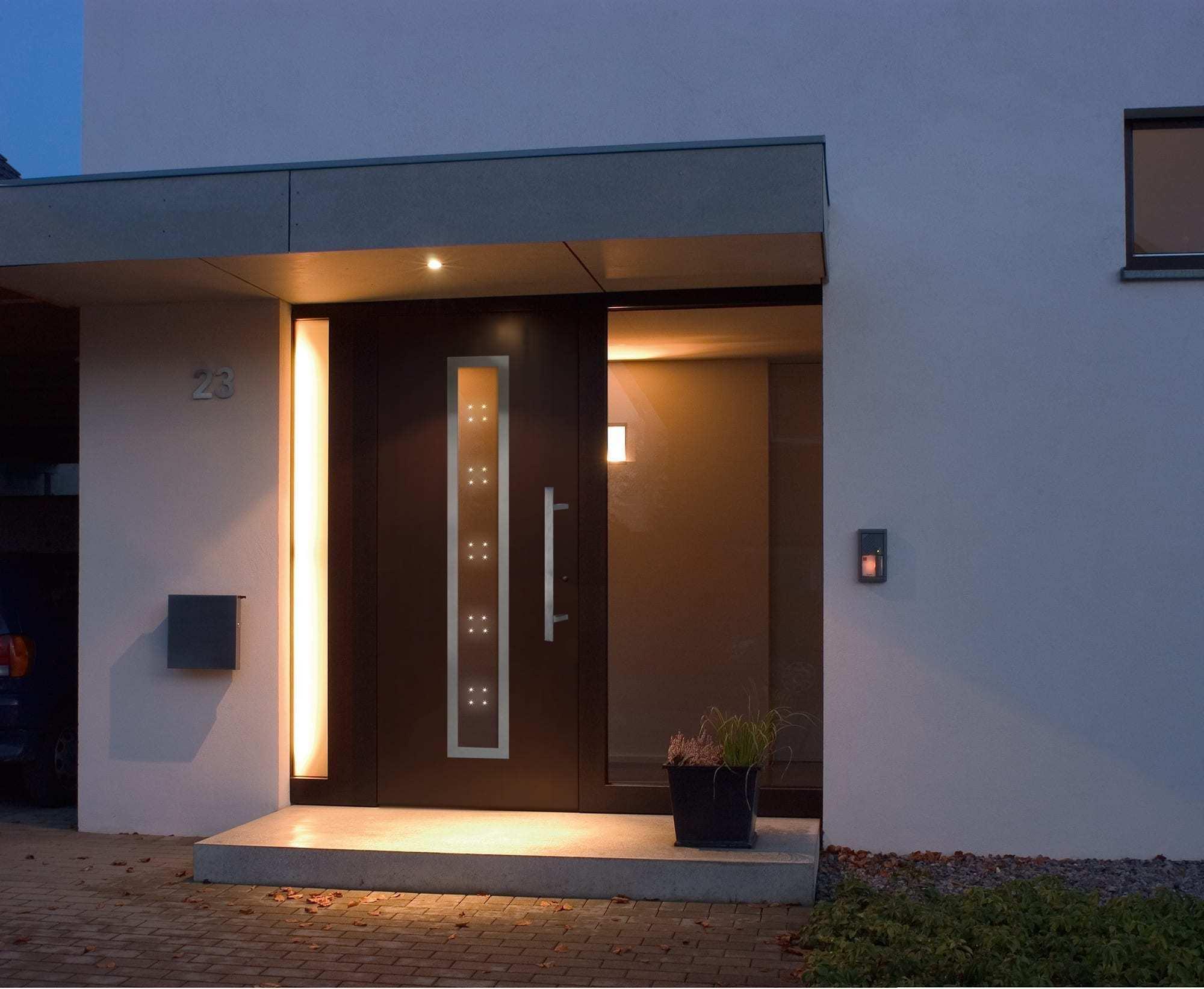 trocal 76 pvc u residential door system aluclip trocal. Black Bedroom Furniture Sets. Home Design Ideas