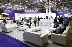 BATIMAT MOSCOW 2015 – Seats at the exhibition stand for optimal advisory talks