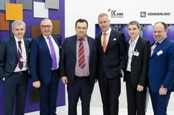 BATIMAT MOSCOW 2015 – Group photo with Dr Mrosik