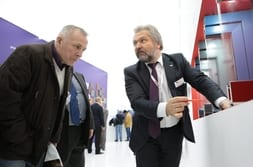 BATIMAT MOSCOW 2015 – Advisory talk with customer