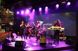 BATIMAT MOSCOW 2015 – Band at the evening stand party