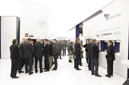 FENSTERBAU FRONTALE 2014 – Throng of visitors at the product exhibition