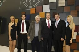 FENSTERBAU FRONTALE 2014 – Group photo with Dr Mrosik