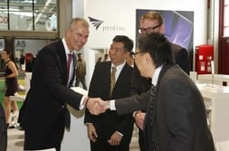 FENSTERBAU FRONTALE 2014 – Customers from Asia with Dr Mrosik