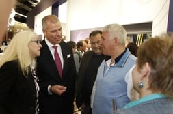 FENSTERBAU FRONTALE 2014 – Customers from Russia with Dr Mrosik
