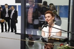 FENSTERBAU FRONTALE 2014 – Pianist on the piano evening