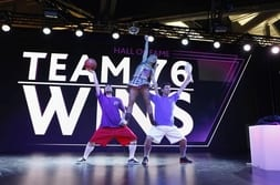 FENSTERBAU FRONTALE 2014 – Dance show with Team 76