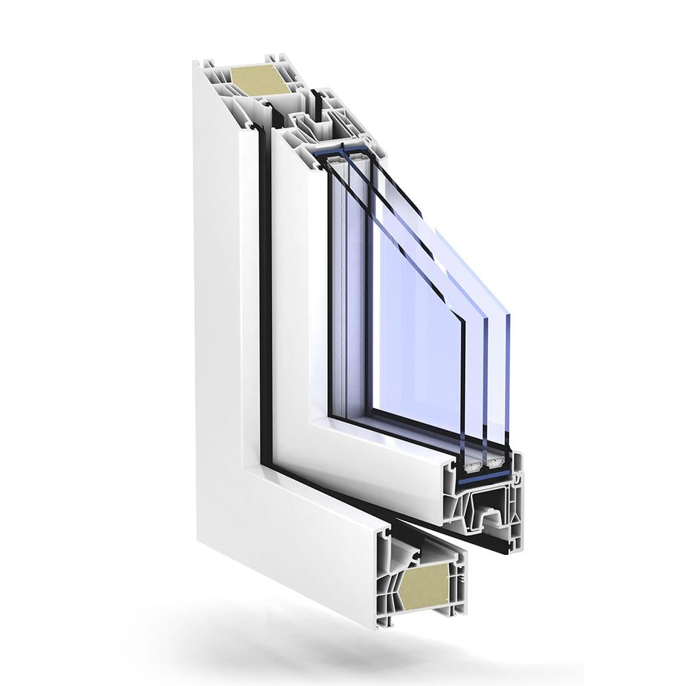 Trocal 76 mitteldichtung passivhaus kunststoff for Trocal fenster