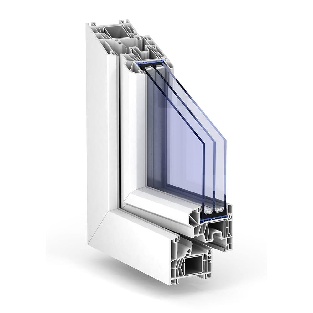 Trocal 76 mitteldichtung standard kunststoff fenstersystem for Trocal fenster