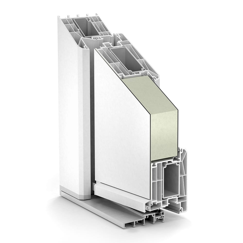 Trocal Led Control: TROCAL 88+ PVC-U Residential Door System Intersash Door