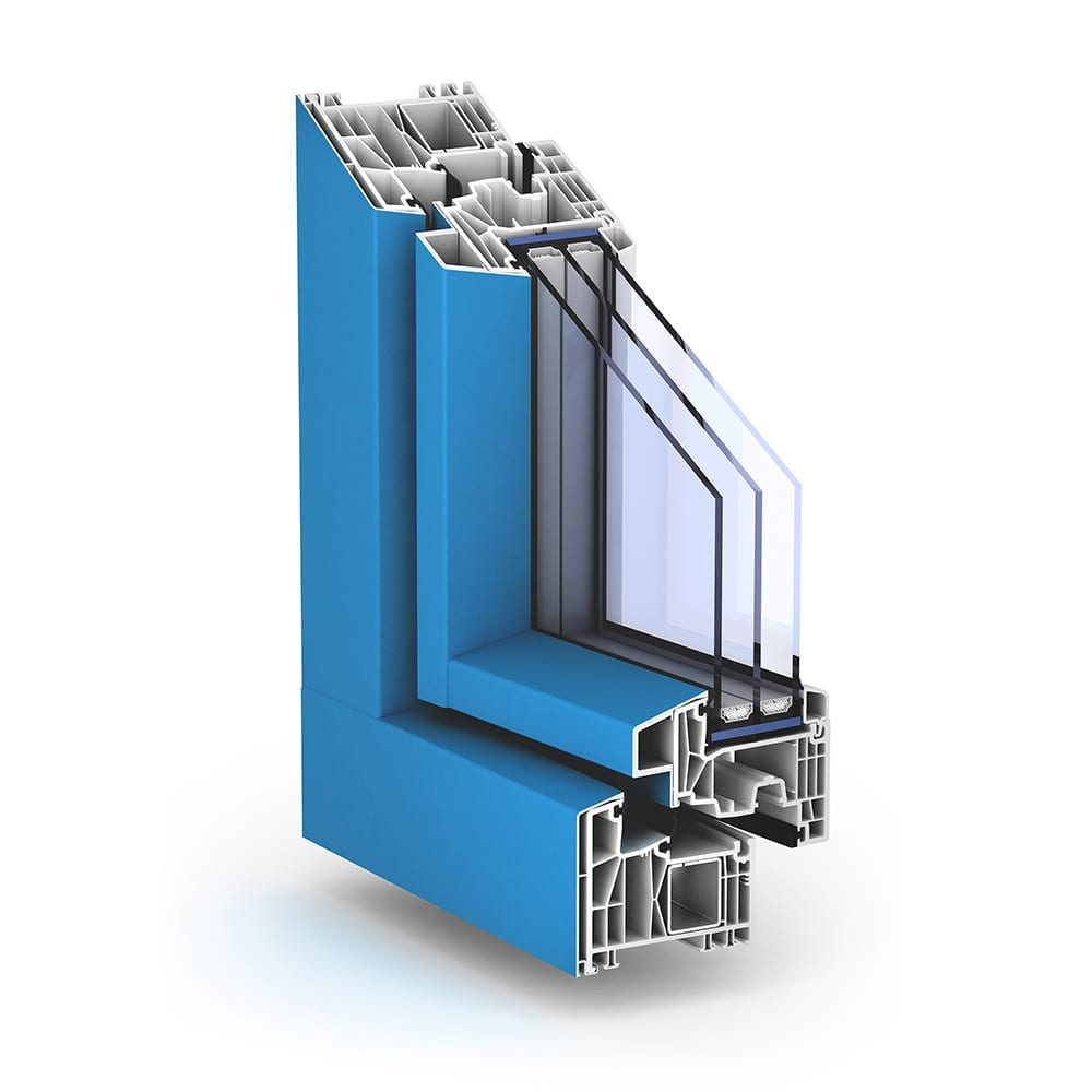 TROCAL 88 AluClip Pro Mitteldichtung Kunststoff-Fenstersystem