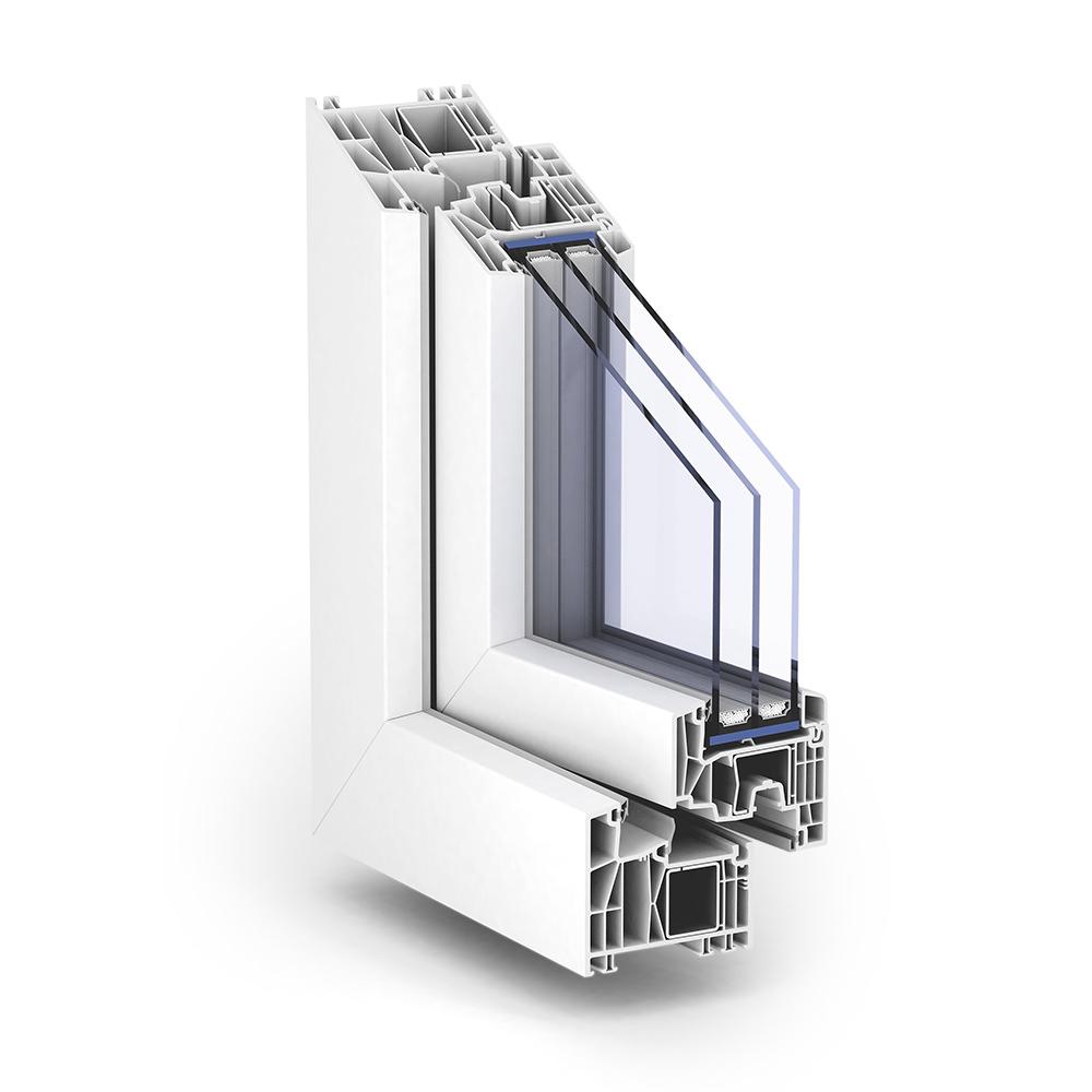 TROCAL 88 Mitteldichtung Kunststoff-Fenstersystem