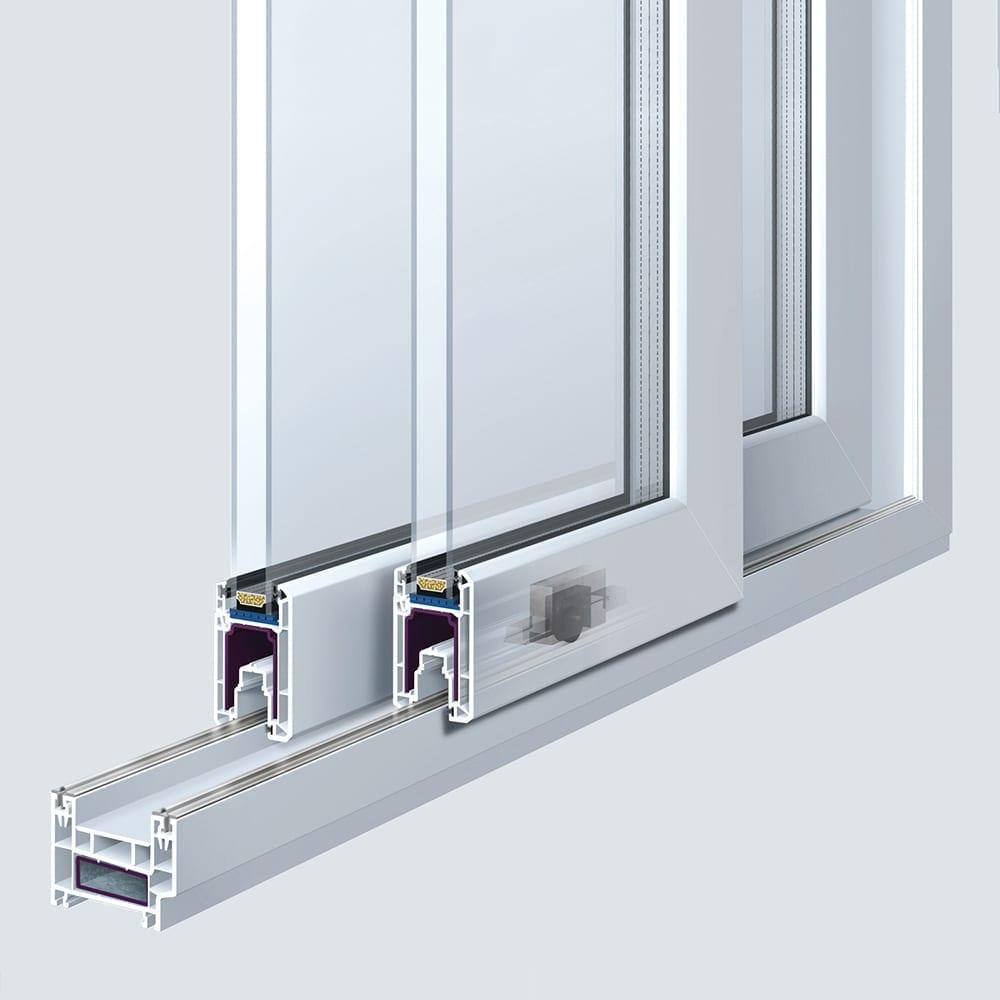 Folding Door Systems : Trocal premiline your comfortable sliding door system